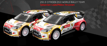 Bburago 1:32 WRC World Rally Models Alloy car models Favorites Model 1 # 2 #