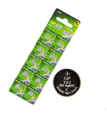 Wholesale 10Pcs 1.5V GP LR41 192 Button Cell Alkaline Batteries Freeshipping(China)