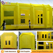 Customized Portable Used Car Inflatable Paint Spray Booth for Sale, 10*5*5M Mobile Paint Booth for Car Paint with Air Door/DDU