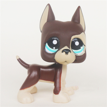 Round Eyes Littlest Pets with Brown Hair Lps Shop Action Figure Gifts Toy Doll(China)