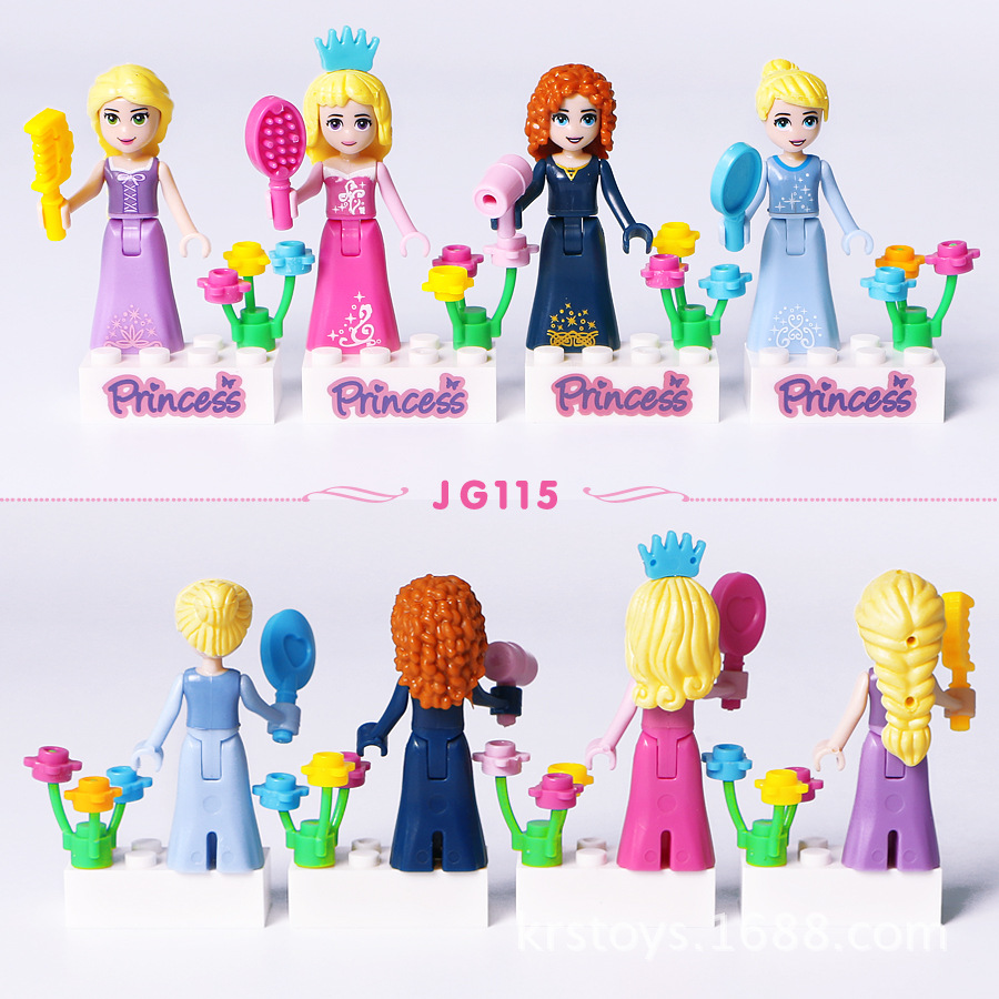 8Pcs-Fairy-Tale-Princess-Girl-Model-Building-Doll-Figures-Bricks-Blocks-Kid-Friends-Children-Toys-Compatible (2)