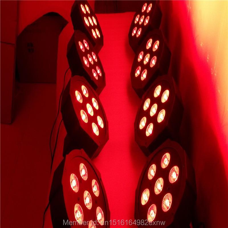 (8pcs) Fast Shipping American DJ Mega Tri Par Profile Bright Stage LED Flat Par Lights SlimPar Tri 7 x 9W RGB<br><br>Aliexpress