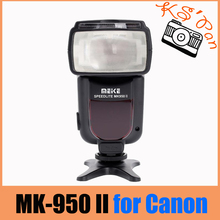 Майке MK-950 II E-TTL Вспышка Speedlite для Canon EOS 5D II 6D 7D 50D 60D 70D 550D 600D 650D 700D 580EX 430EX как YONGNUO YN-565Ex(China)