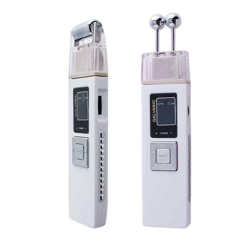 ION Galvanic Spa Microcurrent Facial Massager Iontophoresis Face Cleaning Skin Firming Anti-aging Machine Ionic Skin Care Beauty<br>