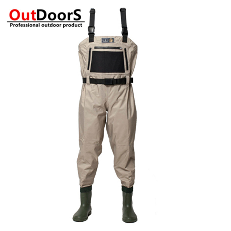 Brand breatheable Waders Nylon high chest waders Wader for fishing stivali pesca fishing overalls fishing waders botas de pesca<br><br>Aliexpress