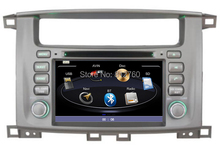 "7"" Car DVD Player for Toyota Land Cruiser/ Landcruiser 100 with GPS Navigation,Bluetooth,TV,Radio,Stereo,3G USB Host,Free Maps(China)"