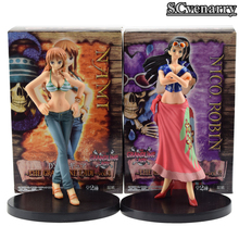 2pcs/set One Piece Nami & Robin Action Figure Swimsuit Ver. Robin and Nami Doll PVC figure Baby Toys