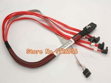 NEW Original for Mini SAS SFF-8087 to SATA Cable DL320 G6 for HP server SAS cable 538872-002