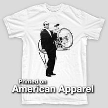 BILL MURRAY BIKER Rushmore LIFE AQUATIC Max Fisher AMERICAN APPAREL T-Shirt Fashion Logo Printing  T Shirts New 2017 Fashion