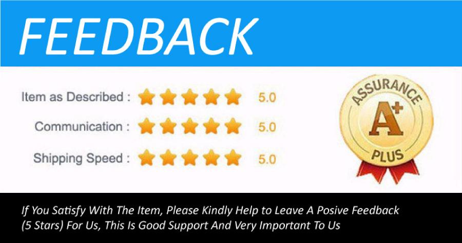 Pls give us posive feedback