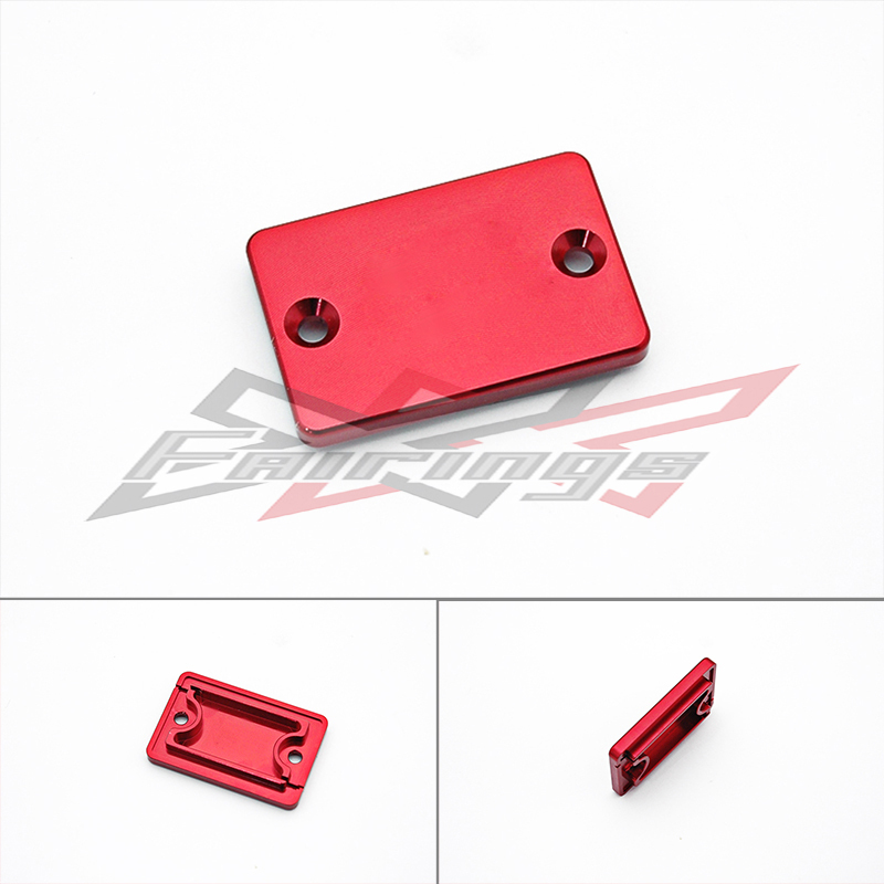 FREE SHIPPING Red FRONT Brake Reservoir Cover for Yamaha TRICKER XT250X WR250R YFZ450 RAPTOR<br><br>Aliexpress