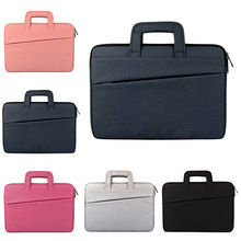 11.6/12/13.3/14.1/15/15.6Inch Laptop Bags Waterproof Notebook Computer Handbag Cover For Macbook Dell HP Asus Lenovo QJY