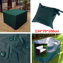 Hot Sale Waterproof 134*70*100cm Outdoor Furniture Cover Garden Patio Coffe Table Desk Cover Wooden Chair Rainproof Cover