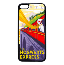 Harry Potter Series Hermione in Train Fun Art For iPhone 6 6s 7 Plus Case TPU Phone Cases Cover Mobile Protection Decor Gift(China)