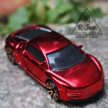 1:64 Alloy car model Sports car series Audi R8 car Gold-plated car Children like the gift Family Collection Decoration(China)