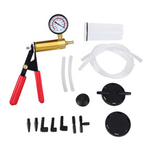 15 Pcs/sets Professional Hand Held Vacuum Pump Kit Car Auto Pressure Tester Brake Bleeder Tester Set Durable With Box
