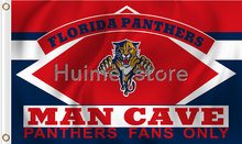 Florida Panthers Flag NH*L 3ft x 5ft Polyester MAN CAVE Style Banner(China)