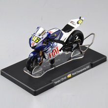 1/18 Scale ROSSI Yamaha YZR-M1 #46 World Championship 2007 Motorcycle Diecast Motorbike Model Kids Gift Collection