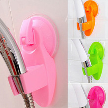 Portable Home Bathroom Shower Head Holder Wall Suction Vacuum Cup Wall Mount Adjustable Shower Faucet Head Holder(China)