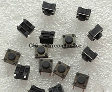 1000PCS 6X6X5 6X6X5mm 6*6*5mm 6*6*5 mm smd chip TACT SWITCH Push Button Switch SMD switch touch IC