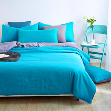 Lake Green Bedding set 3/4pcs Duvet cover sets bed linen Bed sets include Duvet Cover Bed sheet Pillowcase Queen full twin size