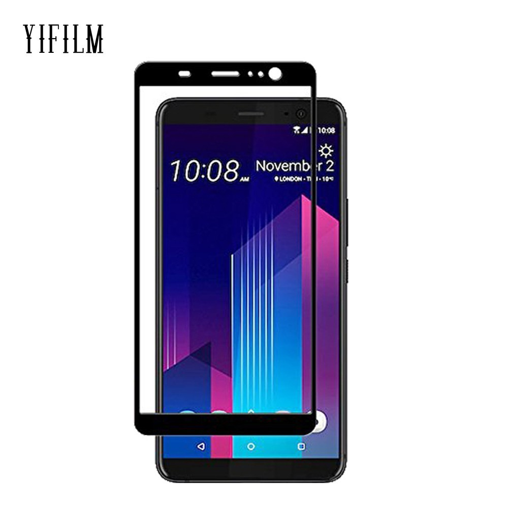 Phone Screen Protectors Smart For Htc U11 Glass Htc U11 Plus Tempered Glass For Htc U11 Life U11 Eyes Screen Protector 2.5d Protective 0.30mm Tempered Glass Mobile Phone Accessories