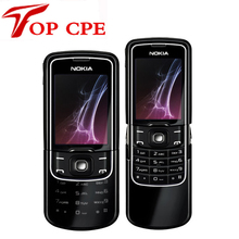 Unlocked Original Nokia 8600 Luna Refurbished Mobile cell phone english russian keyboard&language Singapore post Free shipping(China)