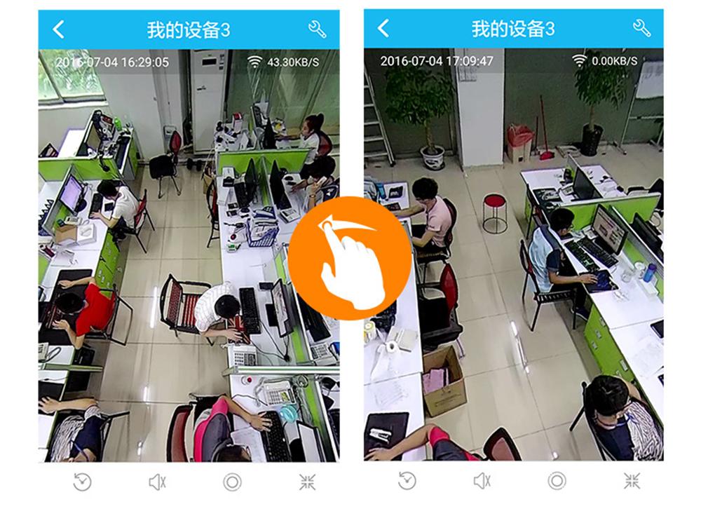 960P 3MP wireless VR ip camera sim card 4G LTE H.264 Security surveillance panoramic 360 degree PTZ Camera with SD Card Slot (10)