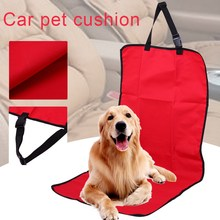 Folding Oxford Fabric Car Seat Cover Water-proof Pet Closely Car Seat Cover Dog Cat Puppy Seat Mat Blanket for Pets Dogs(China)