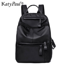 2017 Women Bags Backpack Oxford Nylon Canvas Fashion Retro Brand Ladies Shopping Backpacks Trip Waterproof Bag Travel Ladies Bag