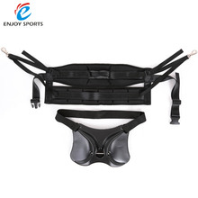 2016 Newest Fishing Harness + Belt Waist Gimbal Fish Rod Holder Fighting Belt Rod Pole Stand fish tackle(China)