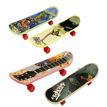 10pcs/lot Toy Mini Finger Board Truck Skateboard Boy Kid Children Party Sport Birthday Gift(China)