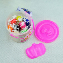 DIY Handmade Rubber Clay Bucket Mud Color Mold Set Kids Educational Toy(China)