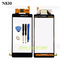Original High Quality 5.0'' For Nokia Lumia 830 N830 Black Touch Screen Digitizer Sensor Front Glass Lens panel + tools