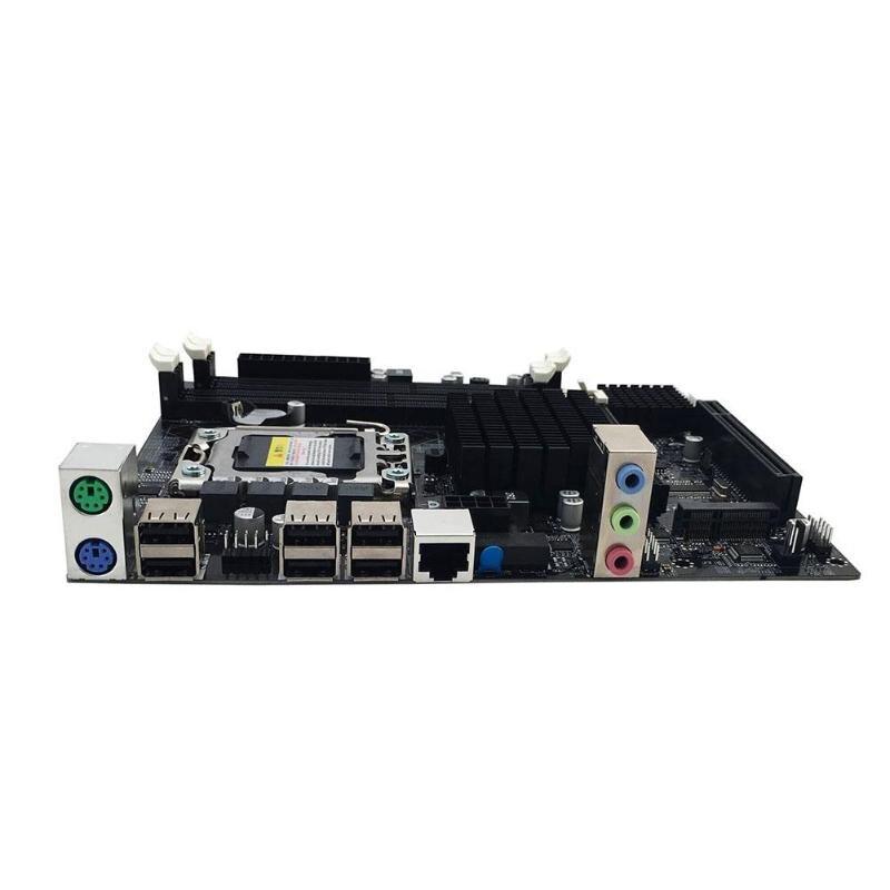 Интернет магазин товары для всей семьи HTB19pDravjsK1Rjy1Xaq6zispXaV X58 рабочего Материнская плата LGA 1366Pin DDR3 компьютер материнская плата для L/E5520 X5650 RECC для Intel Core i7 M-SATA 1333 МГц