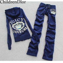 Children Clothing Sets Girls Suits Christmas Letter Print Set Hooded Coat+Pants Kids Brand Sport Suits 2-12Y Girls' Clothing
