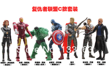 American Captain toys/ The Avengers  toys/ iron man/ T he Incredible Hulk / toys for kids/ usa figure/free shipping