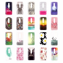 for Motorola Moto G 3rd gen / Moto G Gen 3 / Moto G3 Brazil Phone Case Cases Cover Shell Ultra Thin Soft Cartoon Patterned