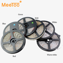5M / Roll DC12V IP20 IP65 Waterproof RGB LED Strip Flexible Lights SMD 5050 Led Fita 300LED Lampada LED Light Tape Ribbon Lamp