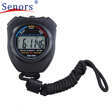 Superior Digital Professional Handheld LCD Chronograph Sports Stopwatch Stop Watch Oct 25