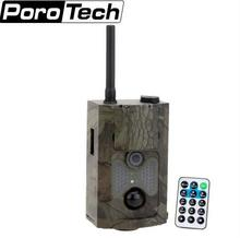 DHL free shipping 12MP 1080P Hunting Trail Camera 3G network MMS SMTP/SMS Wide Angle Wildlife Camera  HC500G