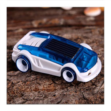 Novelty Toy  Solar Salt Water Hybrid Car Children Green Energy Educational Technology Toy Kids Creative Solar Powered Car Gift