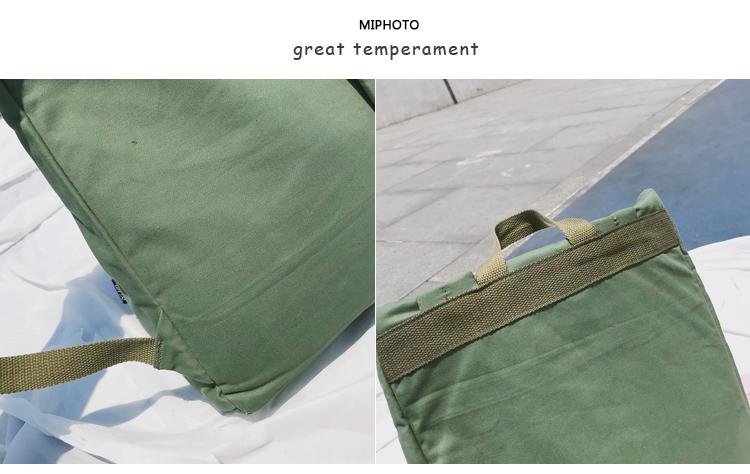 Menghuo Brand Female Women Canvas Backpack Preppy Style School Lady Girl Student School Laptop Bag Cotton Fabric bolsas00_36