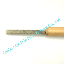 Hand files hot selling small diamond plat hand file & stainless steel abrasive handing file for polishing tools
