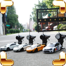 New Year Gift 1:24 RC Remote Control Car Racer Vehicle Speed Machine Mini Toy Cars Drift Kids Boys Game Fun Present Simulation(China)