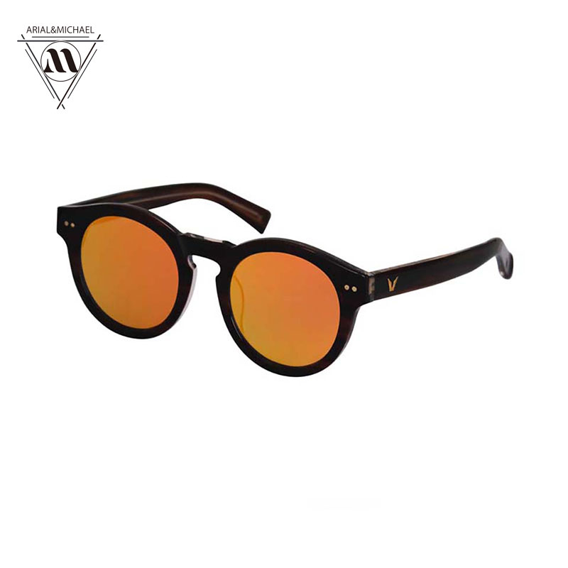Arial&amp;Michael Real Polarized Vintage Women Sunglasses Clear Mirror Lens Designer Brand Original Retro Round Sunglasses oculos <br><br>Aliexpress