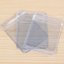 3Szie 100X Clear PVC Plastic Coin Bag Case Wallets Storage Envelopes Seal Plastic Bags gift package High Quality