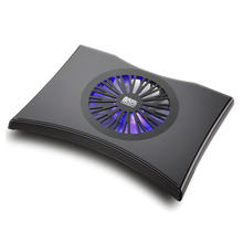 Ergonomic USB Fan Cooler Cooling Pad Stand for Laptop up to 14 inches