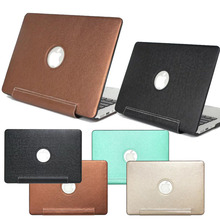 The of the latest popular colour of PU leather laptop case for apple MacBook Pro retina 11 12 13 15 13.3 inches for Mac book