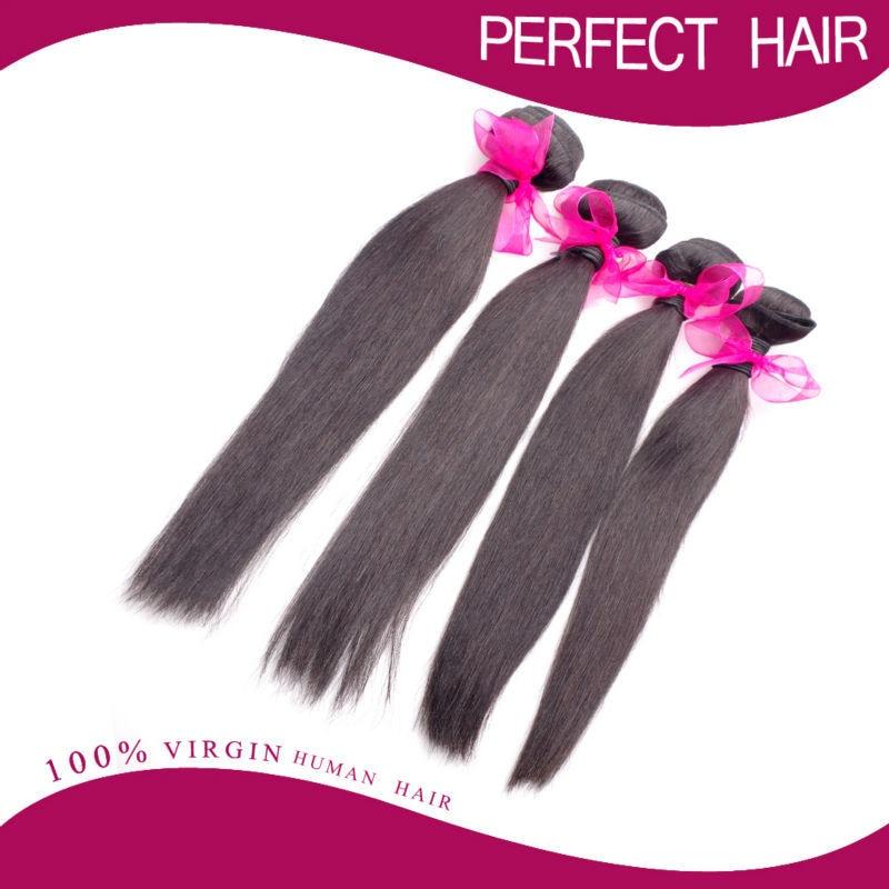 Unprocessed Virgin Brazilian Hair Extension Grade 6A brazilian hair Human Hair Weave 3pcs lot Brazilian straight hair weave<br><br>Aliexpress